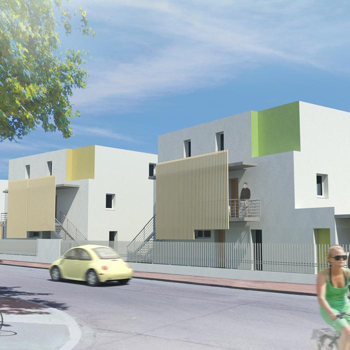 16-logements-sociaux-bbc icf-novedis-dijon--perspective-sur-rue