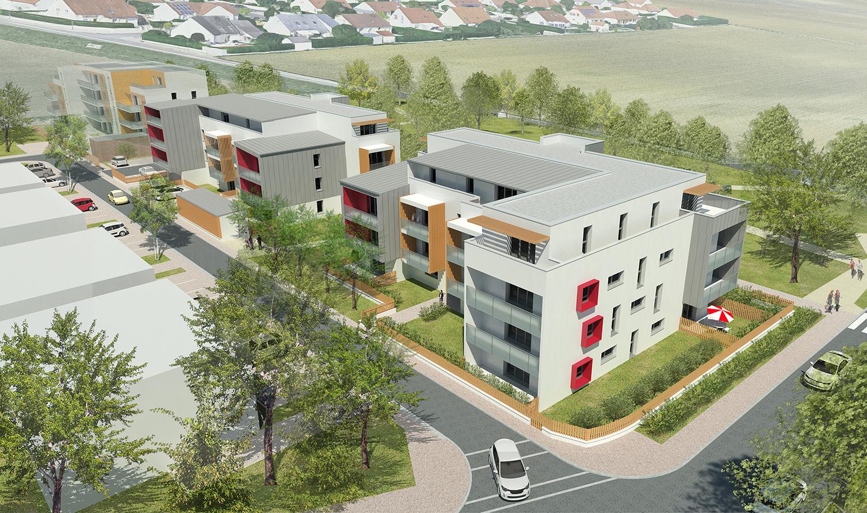 39-logements-sociaux-orvitis-sennecey-les-dijon-vue-aérienne