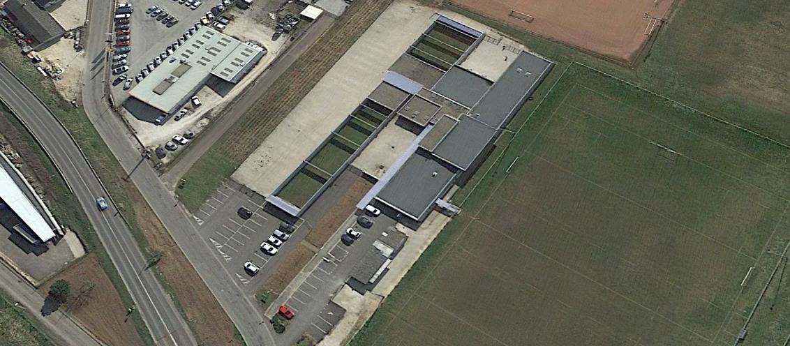 centre multisport-gevrey chambertin-photo vue aérienne
