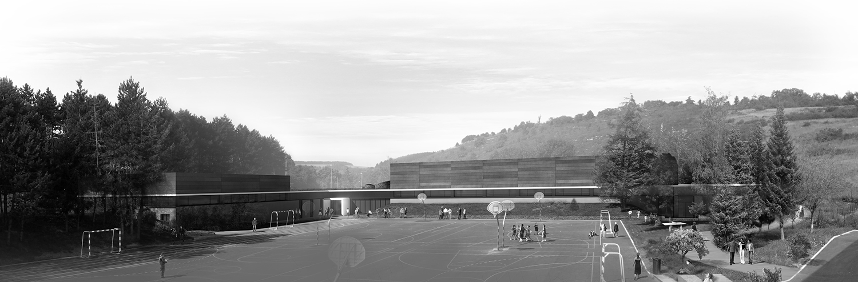 gymnase-du-collège-jean-philippe-rameau-dijon-perspective-plateau-sportif